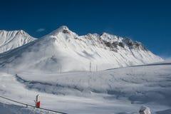 Le passage croisé en hiver Photo libre de droits