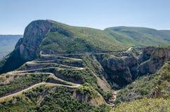 Le passage impressionnant de Serra da Leba en Angola photo libre de droits
