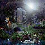Le passage magique Image stock