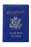 le passeport Etats-Unis a utilisé Photographie stock