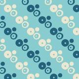 Le pastel abstrait géométrique a pointillé le modèle coloré bleu photos libres de droits