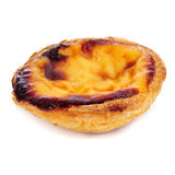 Le Pastel de nata, pâtisserie portugaise typique de tarte d'oeufs image libre de droits