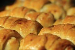 Le pasticcerie casalinghe con una prima colazione di riempimento saranno adatto ad ognuno Fotografie Stock