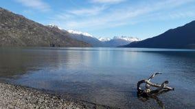Le Patagonia a rêvé le lac image libre de droits