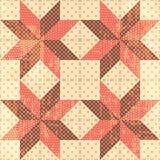 Le patchwork tient le premier rôle le fond Image libre de droits