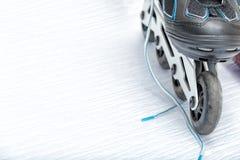Le patin intégré font du roller Images stock