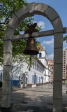 Le patio font Colegio Sao Paulo Brésil Image stock