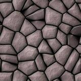 Le pavé de Brown lapide la texture Illustration Libre de Droits