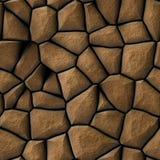 Le pavé de Brown lapide la texture Illustration Stock