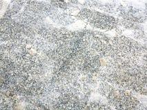 Le pavé et la neige images libres de droits
