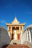 Le pavillion au temple Images libres de droits