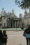Le pavillon, à Brighton, le R-U photo libre de droits