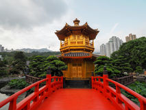 Le pavillon d'or de la perfection en Nan Lian Garden, Photos stock