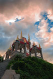 Le pavillon de montagne Photographie stock libre de droits