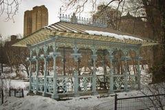 Le pavillon des dames dans le Central Park, New York Image stock
