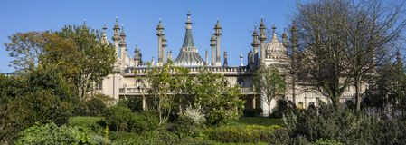 Le pavillon royal à Brighton images stock