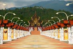 Le pavillon royal Photos libres de droits