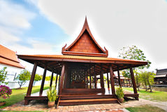 Le pavillon thaï de type Photo stock