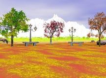 Le pays des merveilles d'automne Images libres de droits