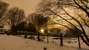 Le pays des merveilles d'hiver Images libres de droits