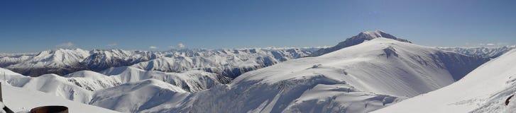 Le pays des merveilles d'hiver sur le toit du monde Photo libre de droits