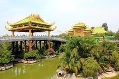 Le pays des merveilles de Dai Nam, Vietnam Images stock