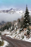 Le pays des merveilles de l'hiver Images libres de droits
