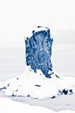 le pays des merveilles de l'hiver de scène Photo libre de droits