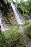 Le pays des merveilles de nature de lacs Plitvice Photos stock