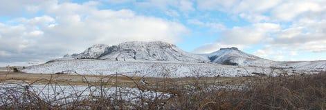 Le pays des merveilles de neige Photo stock
