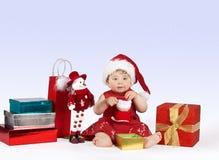 Le pays des merveilles de Noël Images libres de droits