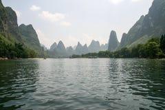 Le paysage à Guilin, porcelaine Photo libre de droits