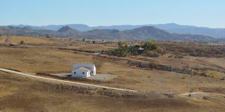 Le paysage autour de Cartama Andulucia Espagne Photographie stock libre de droits