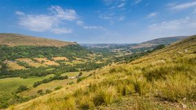 Le paysage Brecon balise le parc national Photo stock