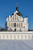 Le paysage d'hiver de temple Photographie stock libre de droits