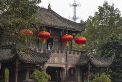 Le paysage dans Huanglongxi, Chengdu, porcelaine Photo libre de droits