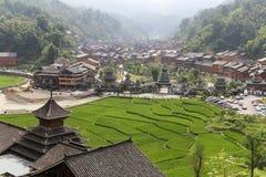 Le paysage dans le zhaoxin, Guizhou, porcelaine Photographie stock libre de droits