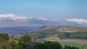 Le paysage dans le Yorks du nord amarre, le R-U photos stock