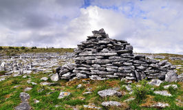 Le paysage 11 de Burren Photos stock