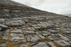 Le paysage de Burren, Cie. Clare - Irlande Photos libres de droits