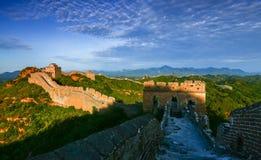 Le paysage de Grande Muraille Images stock