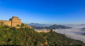 Le paysage de Grande Muraille Images libres de droits