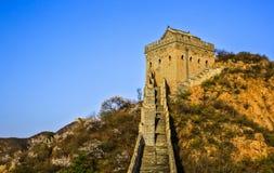 Le paysage de Grande Muraille Photographie stock