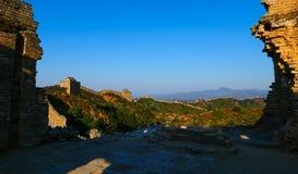Le paysage de Grande Muraille Image libre de droits