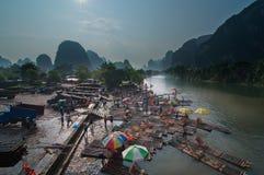 Le paysage de Guilin images libres de droits