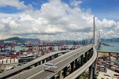 Le paysage de Hong Kong image libre de droits