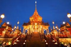 Le paysage de l'architecture funèbre royale Photo libre de droits