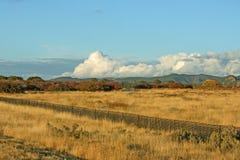 Le paysage de l'Utah avec des nuages Photographie stock libre de droits