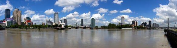 Le paysage de la rivière Image stock