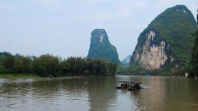 Le paysage de la rivière Lijiang Photo libre de droits